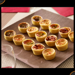 Assortiment de mini-quiches